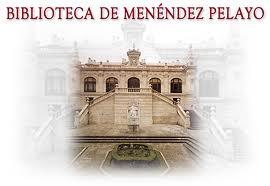 El edificio de la Biblioteca de Menéndez Pelayo