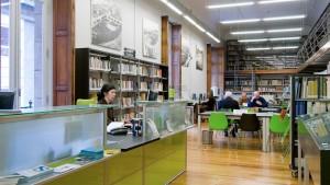 La Biblioteca Municipal de Estudos Locais de A Coruña