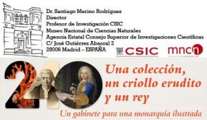 Santiago Merino, Director del Museo Nacional de Ciencias Naturales