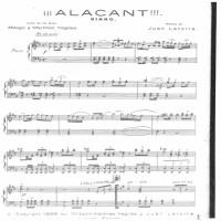 Juan Latorra Baeza y el himno de Alicante