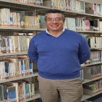Héctor García Leal bibliotecario en Universidad de La Serena (Chile)