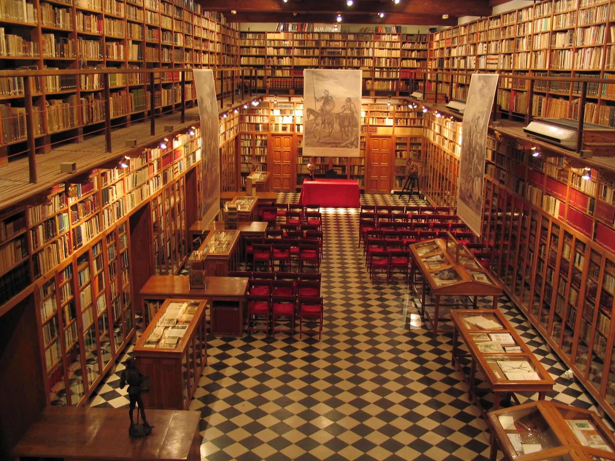 Inés Padrosa Gorgot bibliotecaria y archivera en el Castillo de Peralada