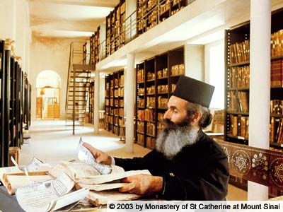 El Monasterio de Santa Catalina y su biblioteca