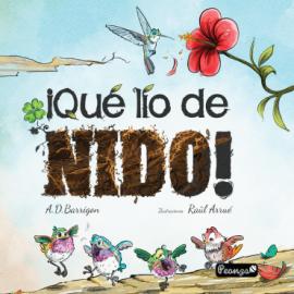 Reseña del libro ¡Qué lio de nido! de Almudena D. Barrigón